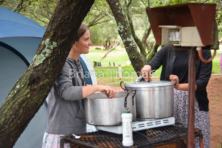 Here are some pictures from our time camping at Bakgatla near a game park in South Africa! Game park pictures to come in the next post....