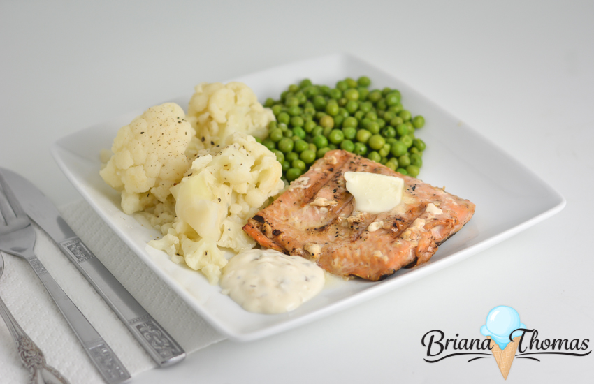 """Simple """"Brown Sugar"""" Grilled Salmon doesn't take long at all to prepare and fits any THM fuel type! THM:FP (with Deep S option), gluten/egg/dairy/nut free"""