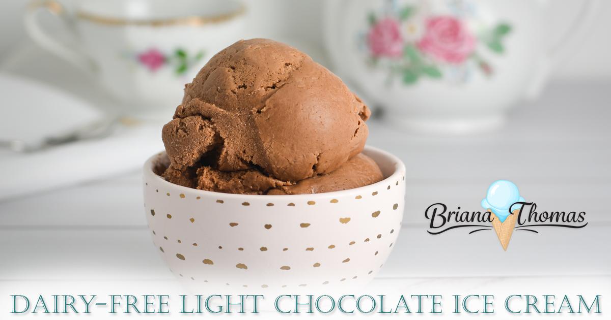 Dairy free light chocolate ice cream a thm deep s treat ccuart Gallery
