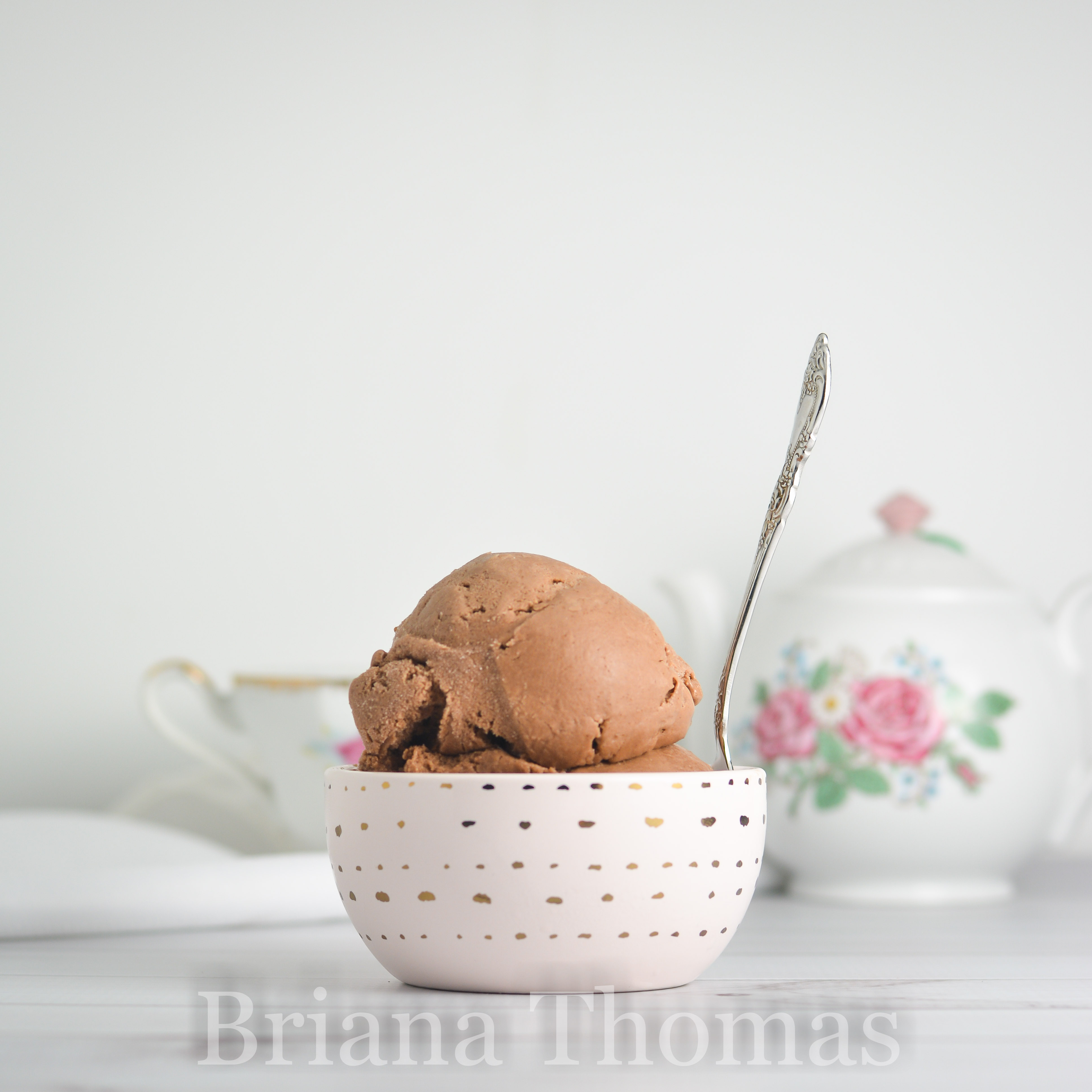 Dairy free light chocolate ice cream a thm deep s treat this delicious dairy free light chocolate ice cream is smooth and creamy and more of ccuart Image collections