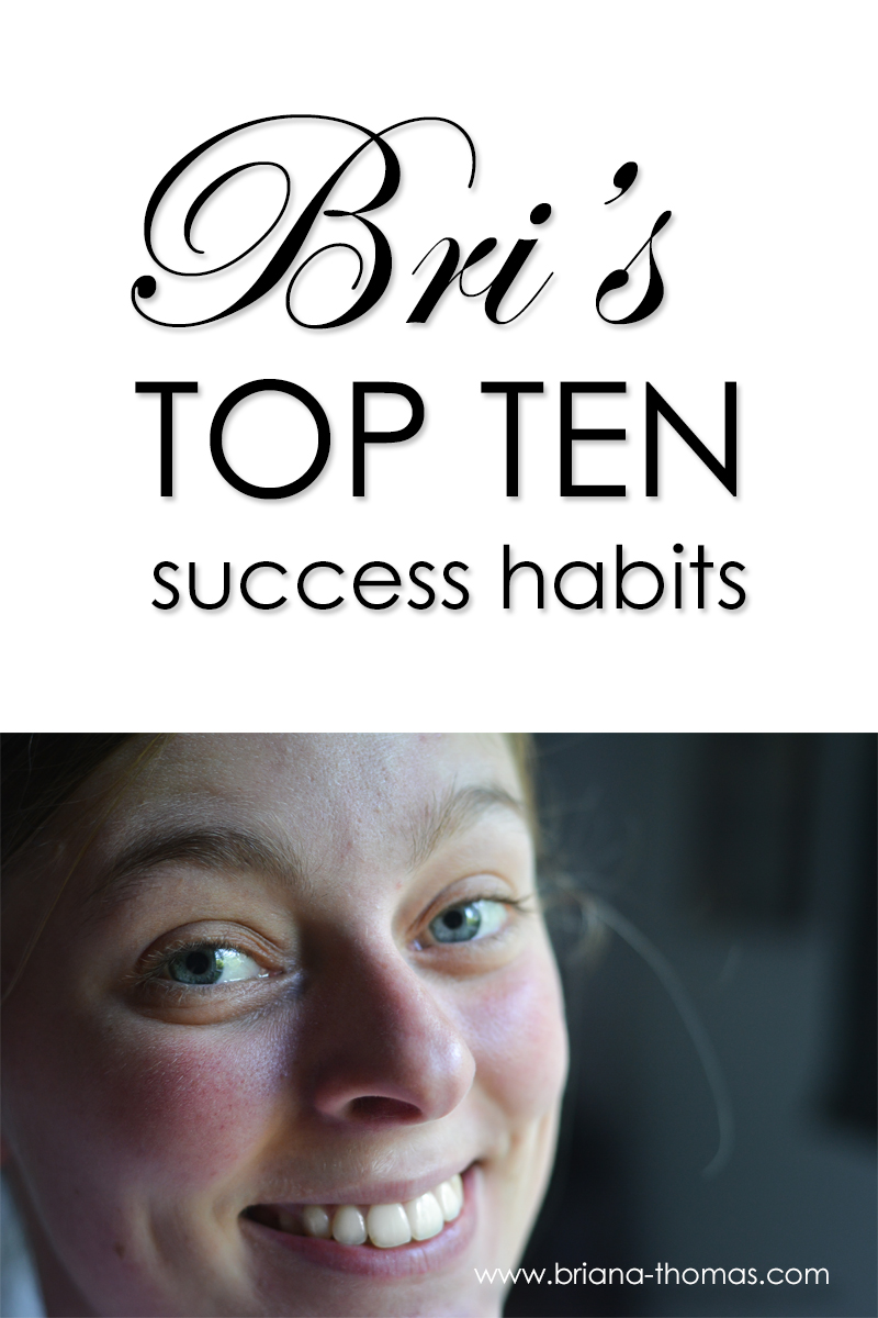 Have you ever wanted to be a millionaire? Check out my top ten success habits and find out how! At the very least, you'll save a few pennies and lose weight.