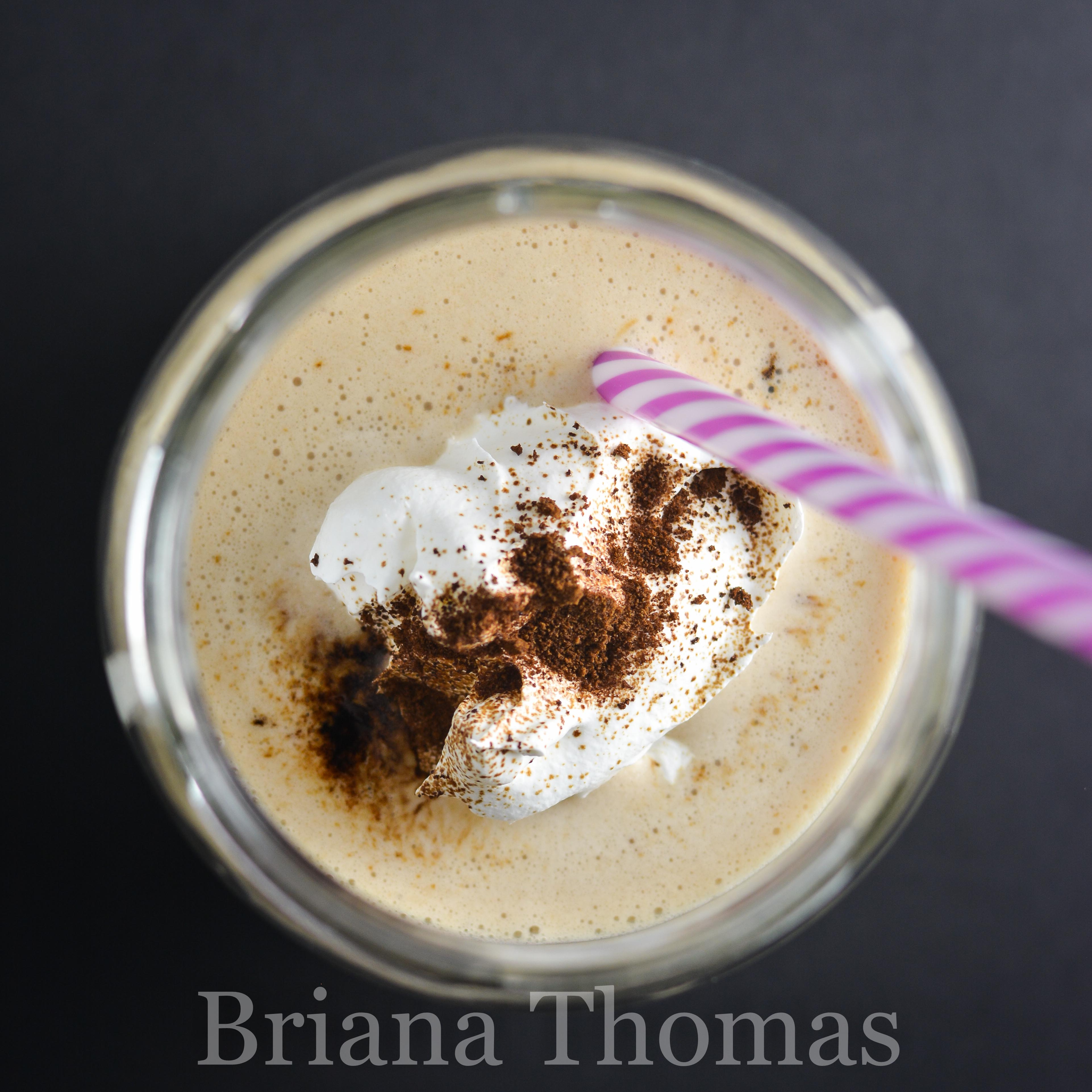 This delicious vanilla frappe is a cheaper, far healthier version of Starbucks! THM:FP, low carb, low fat, sugar free, gluten/egg/dairy/nut free