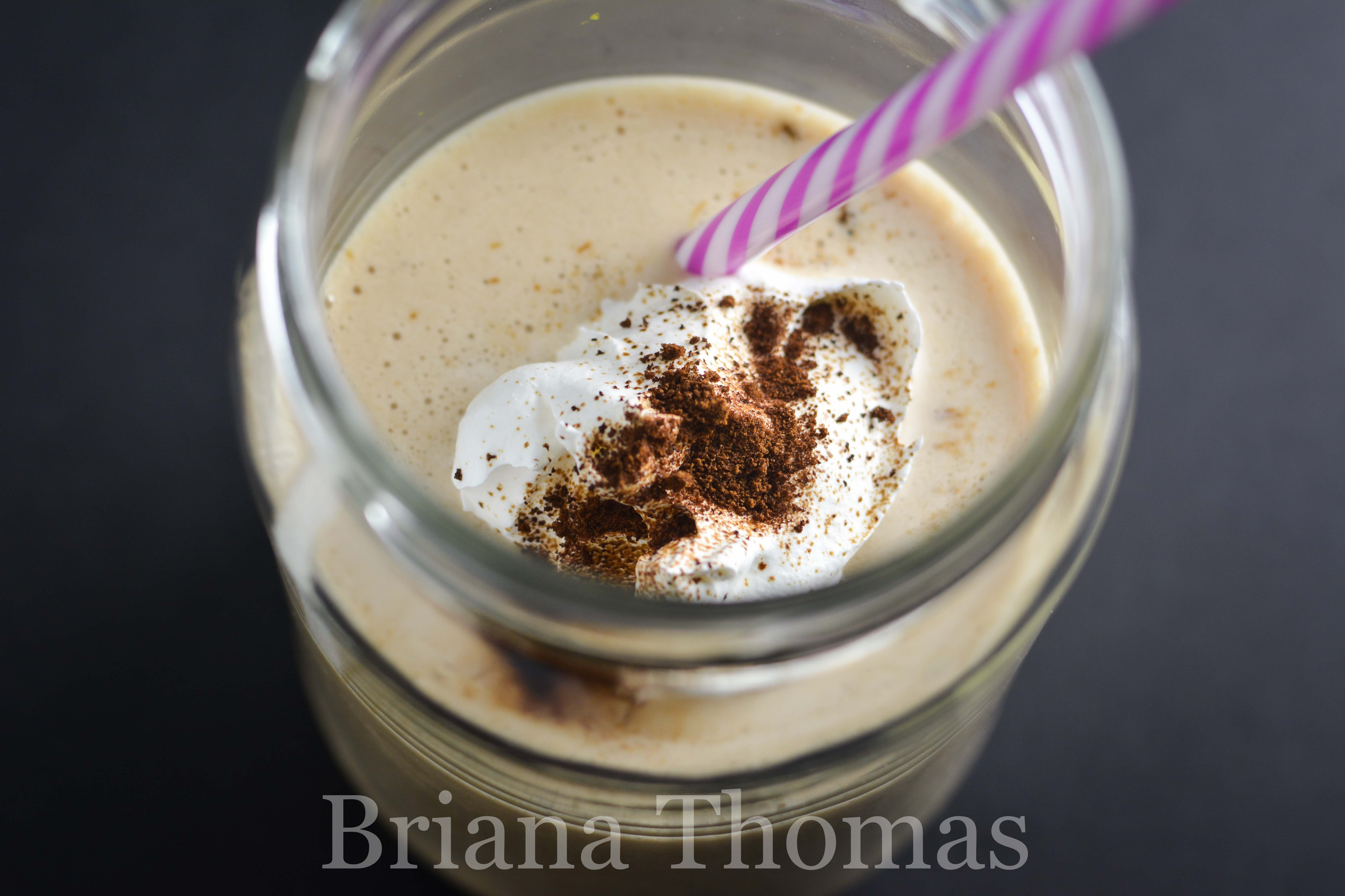 This delicious vanilla frappé is a cheaper, far healthier version of Starbucks! THM:FP, low carb, low fat, sugar free, gluten/egg/dairy/nut free