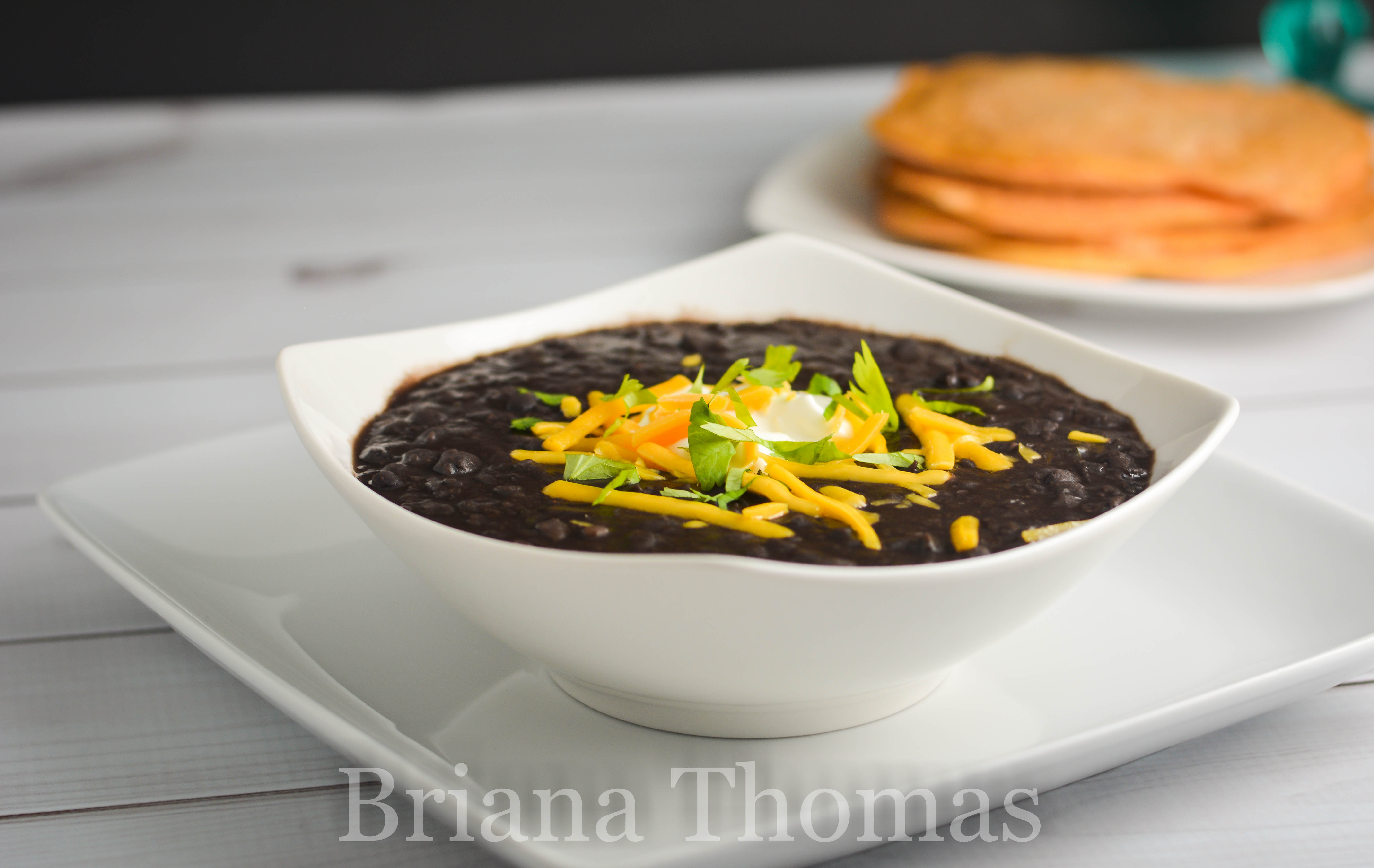 This Crockpot Black Bean Stew is a budget-friendly meal that doesn't skimp on flavor! THM:E, low fat, gluten/egg/dairy/nut free