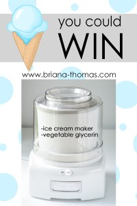 A Summery Ice Cream Giveaway Package!