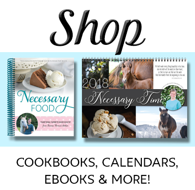 Shop Briana Thomas products! Low-glycemic cookbooks, calendars, and more!