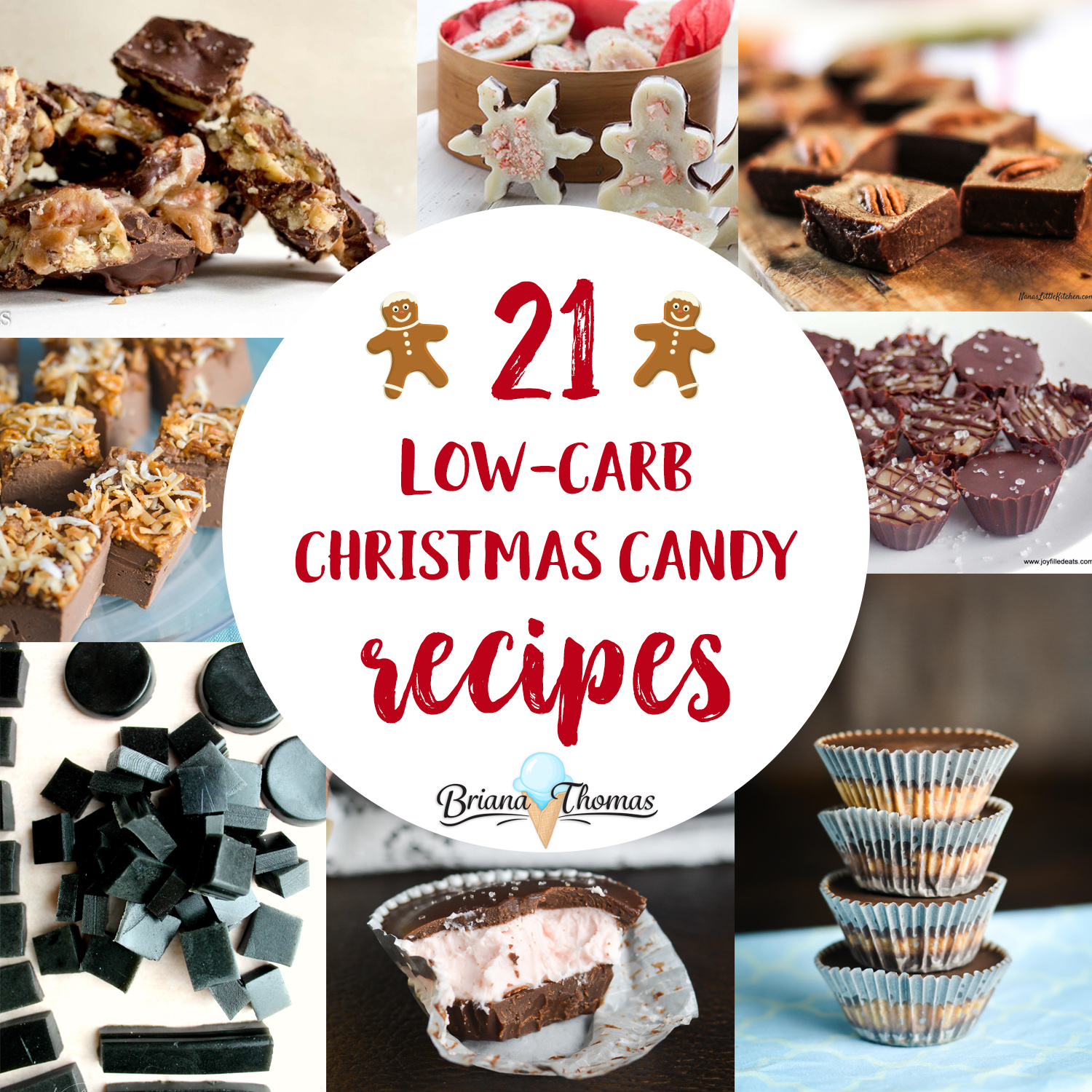 check out this post for 21 low carb christmas candy recipes all of them - Christmas Candy Recipes