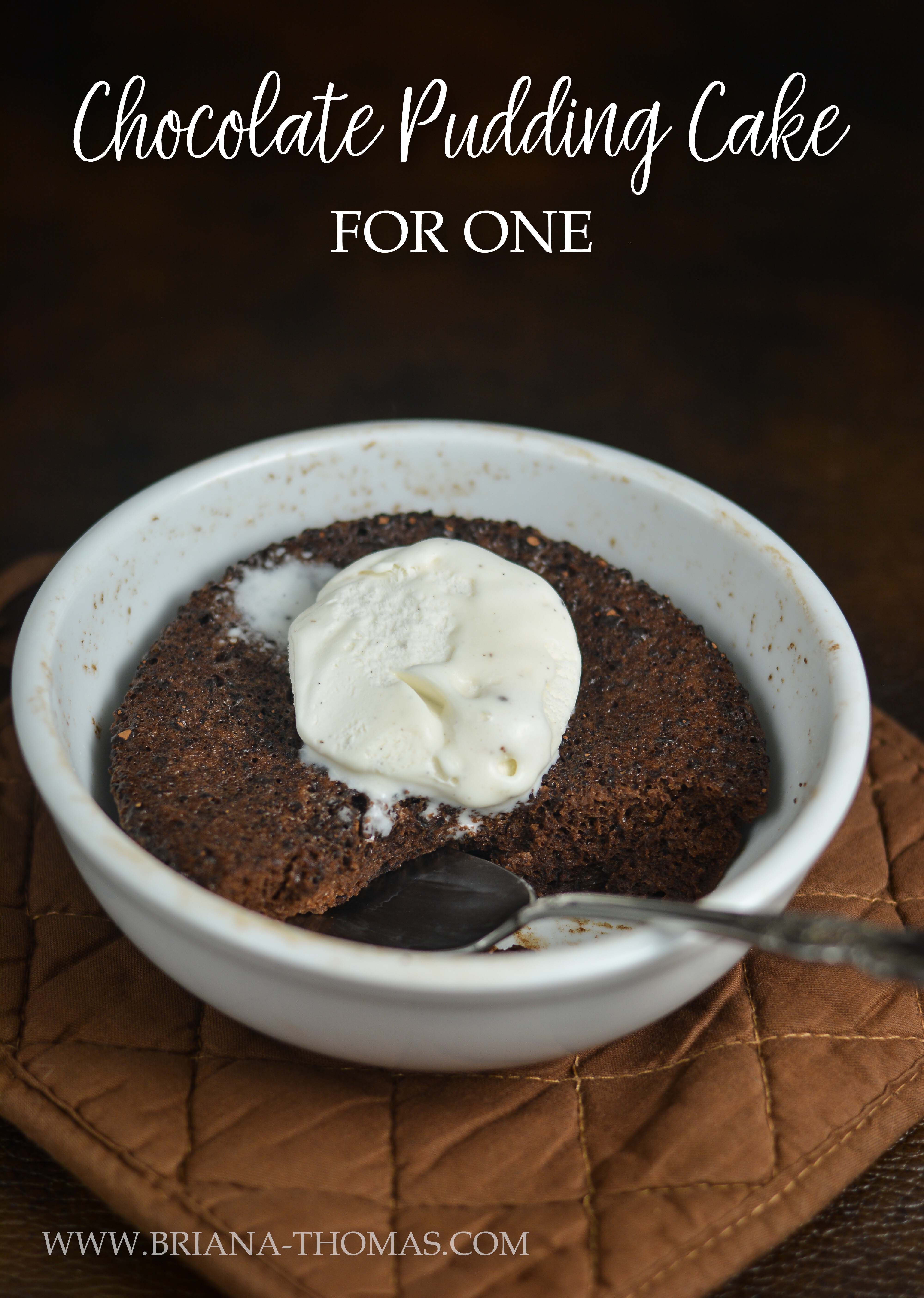Low Carb Chocolate Pudding Cake For One Thm Deep S Sugar Gluten