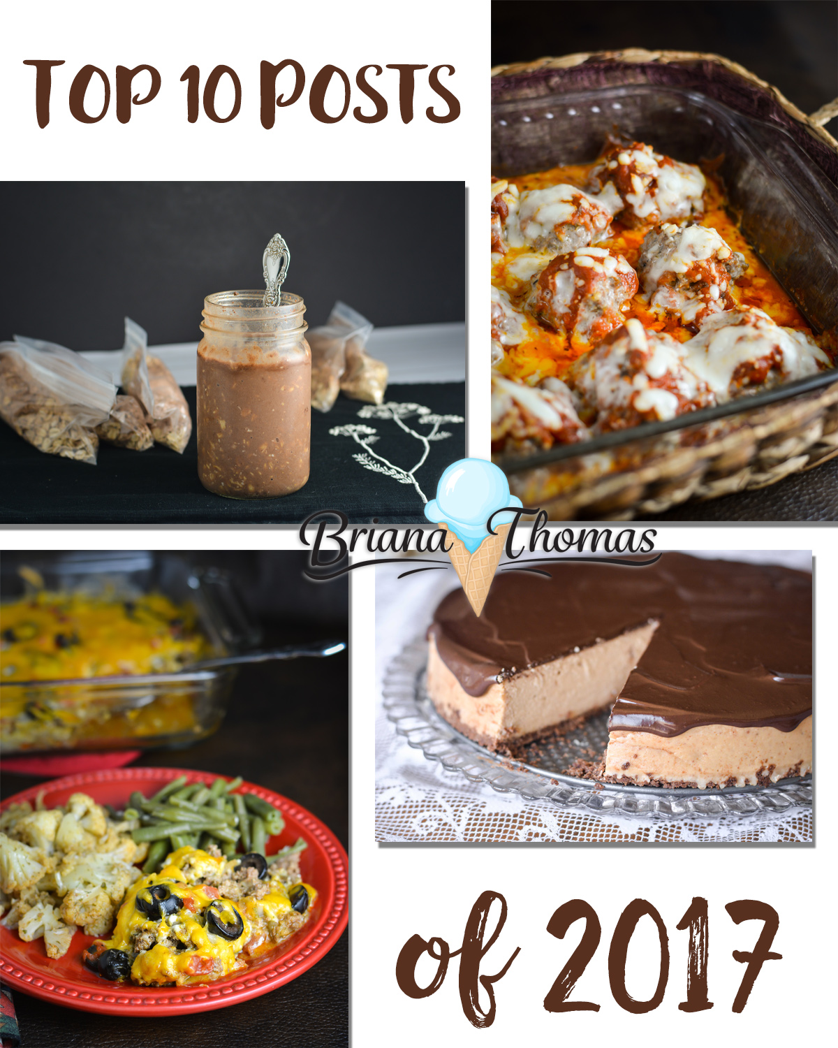 Here's a list of my top 10 posts from 2017 ranked in order of popularity! Can you guess which one is at #1? All Trim Healthy Mama friendly and sugar free!