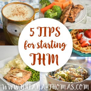 5 Tips for Starting THM