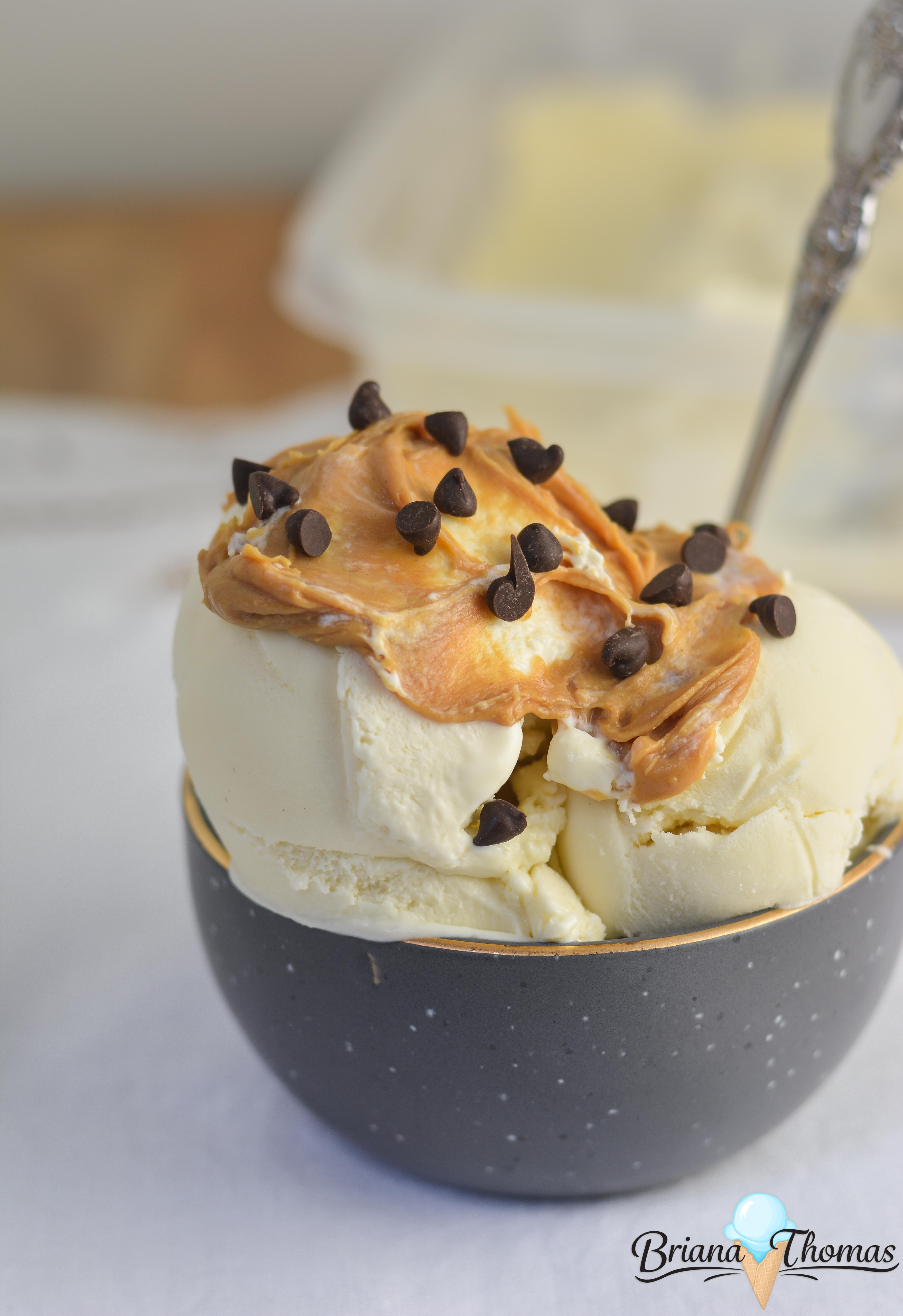 This Basic Vanilla Scoopable Ice Cream is my answer to Carb Smart, Halo Top, and all those convenient low-carb ice creams that you can enjoy right out of the freezer. They still have some questionable ingredients, but this recipe is totally THM friendly! THM S, low carb, sugar free, gluten/nut free options