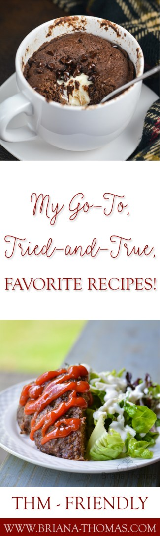 Here's a list of my go-to, tried-and-true, favorite recipes....my THM sweatpants meals, if you will. Breakfast, lunch, snack, supper, dessert, drinks - they're all covered! Sugar free, low glycemic, Trim Healthy Mama friendly