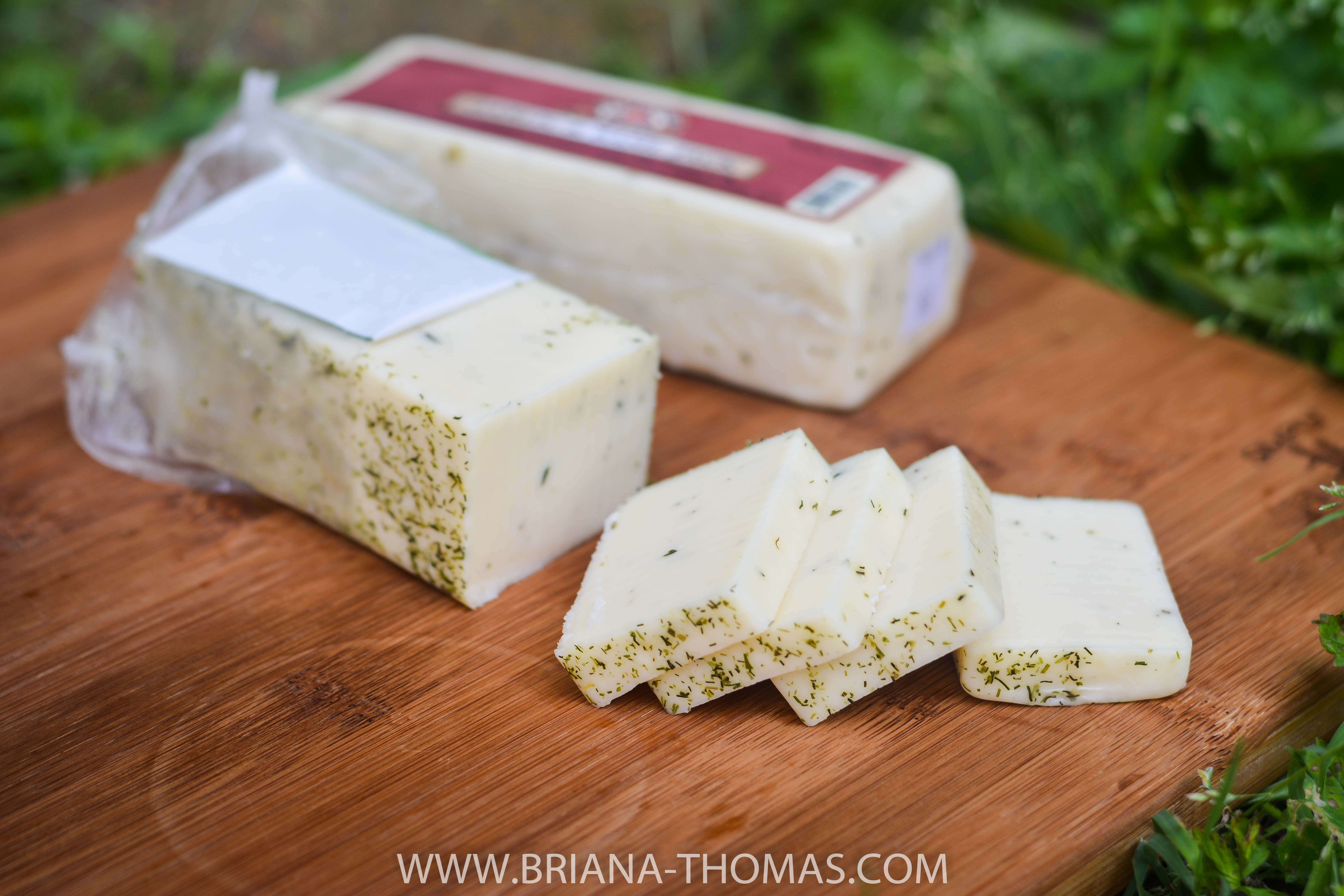 Chives & Dill Jack cheese from September Farm in Honey Brook, PA