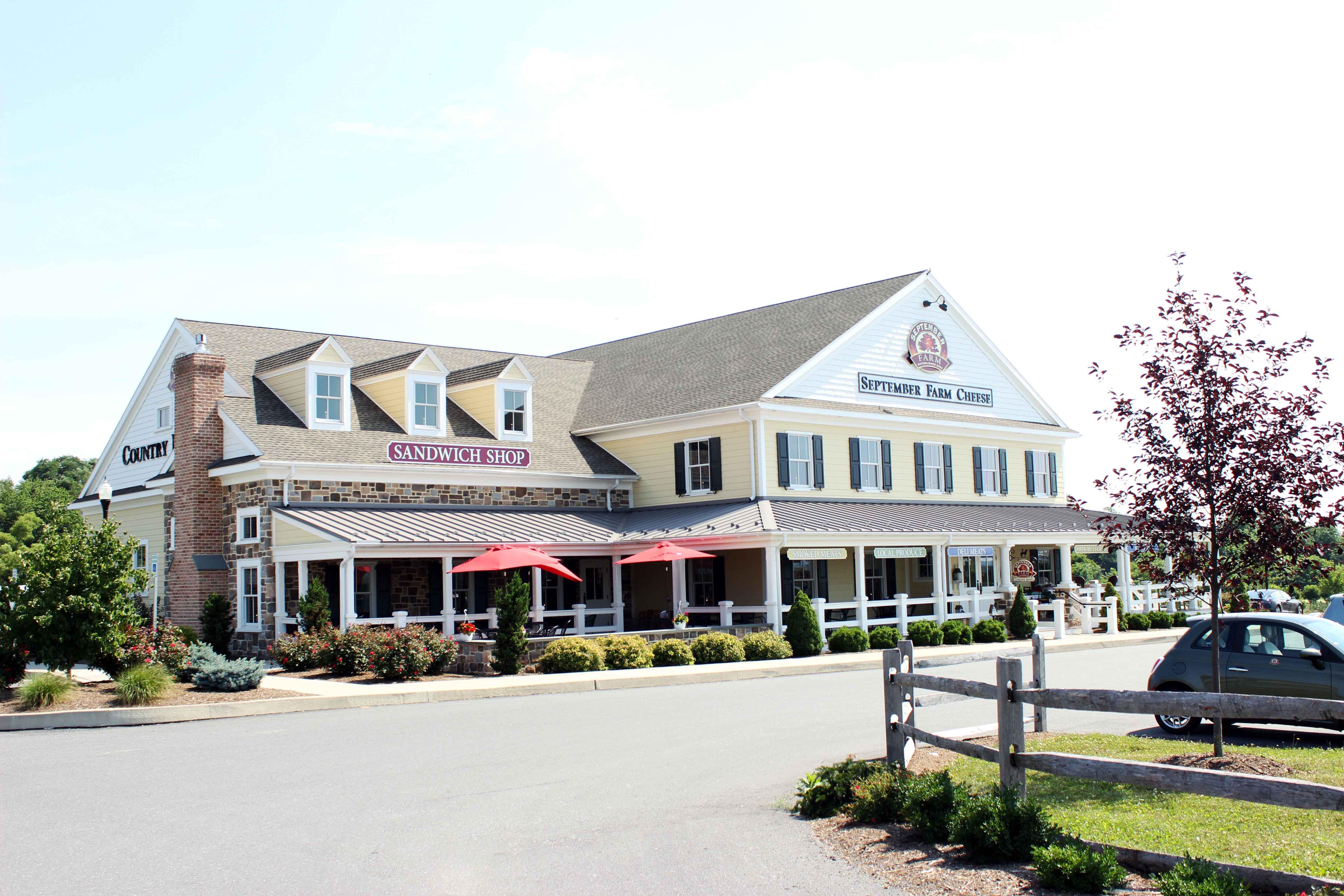 September Farm retail location in Honey Brook, PA