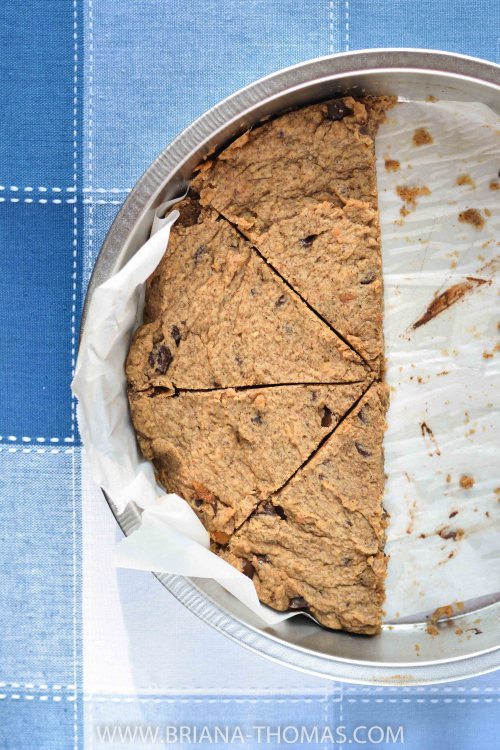 Chocolate Chip Cookie Pie - Convenient Food