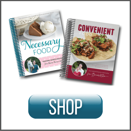 Convenient Food and Necessary Food - Briana Thomas Burkholder