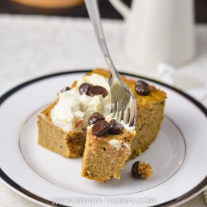 Pumpkin Cream Cheese Brownie Cake