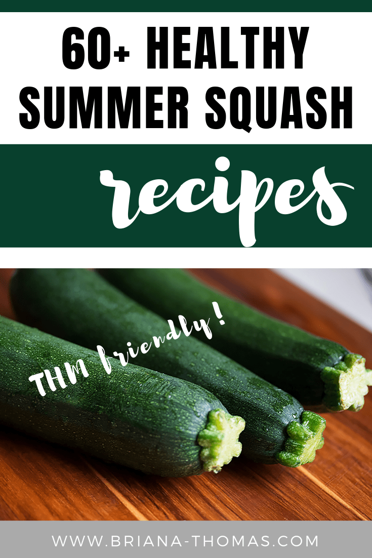 60+ Healthy Summer Squash Recipes - Trim Healthy Mama friendly!