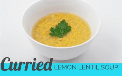 Curried Lemon Lentil Soup