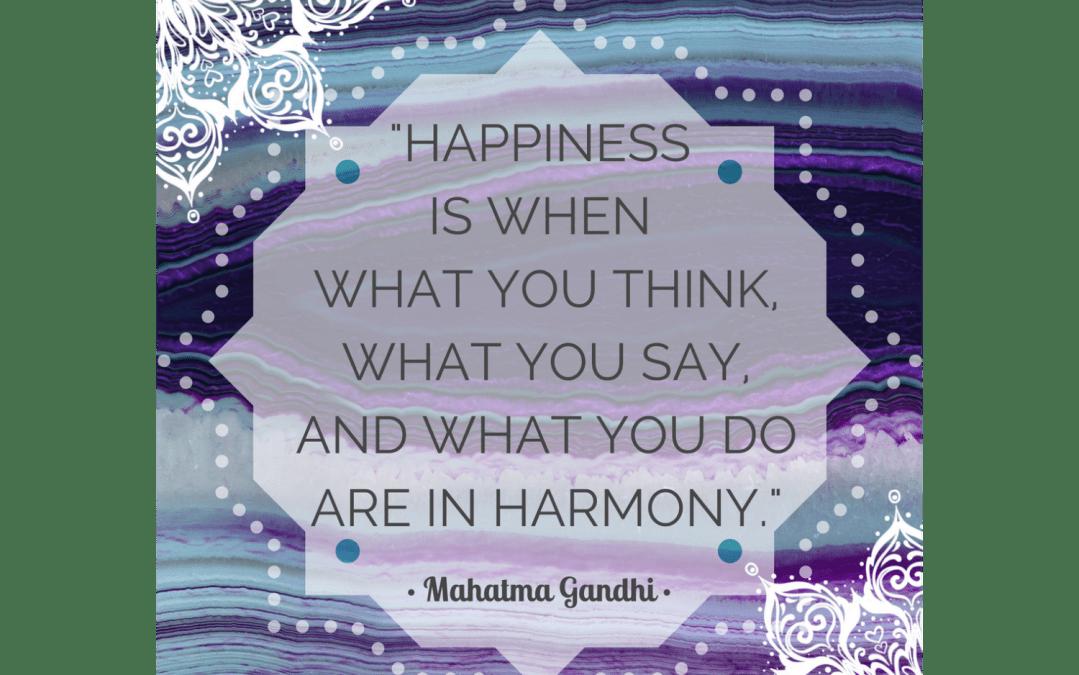 Quotes on Mindfulness:  Gandhi