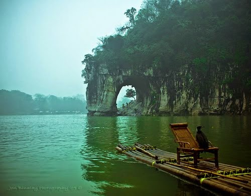 The Elephant Trunk Hill, Guangxi Province, China