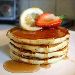 Herbs And Spices – Sunday Morning Lemon Poppy Seed Pancakes