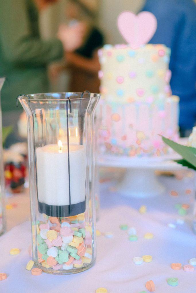 dessert table gender reveal