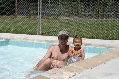 Pool Time with Dad
