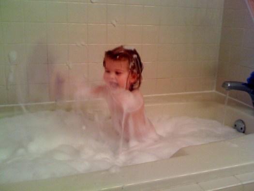 Bubble Bath Gone Wild