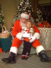 Galaxy of Light and a Visit with St. Nick
