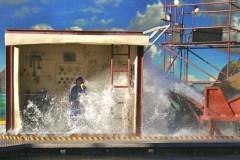 Wet PT Boat Engine Operator