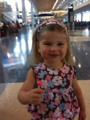 Enjoying A Lollipop in Dallas
