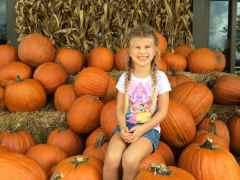 Pumpkins and Katie Beth Allen