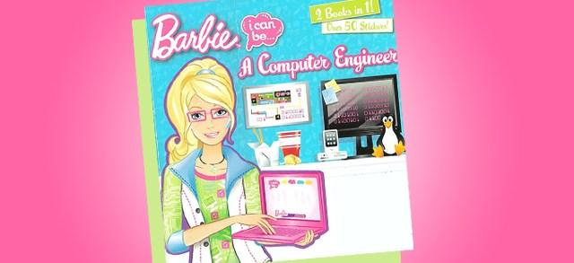 Barbie Engineer book