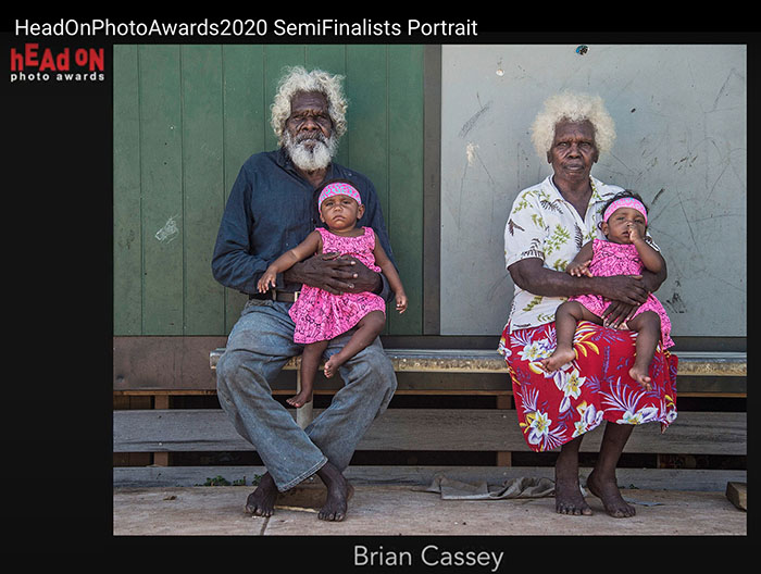 Head On Portrait Prize - Semi-Finalist - 'Generations - Aurukun' - by Brian Cassey