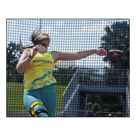Australian Paralympic team members - off the the Tokt=yo Olympics - images by Brian Cassey