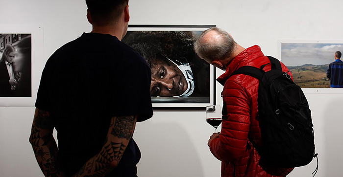 IRIS Award - for Contemporary Photographic Portraiture, Perth - 'Finalist' - 'Tears for George Floyd ... 8 Minutes and 46 Seconds' by Brian Cassey