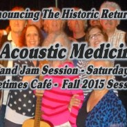 Dr. B's Fall 2015 Session starts Oct 3 at the Freetimes Cafe