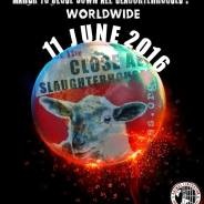 Protest March to Close Slaughter Houses June 11