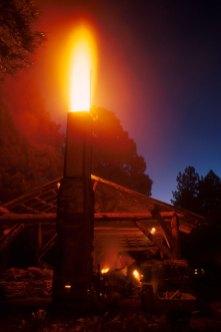 early morning firing