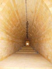 interior of kiln