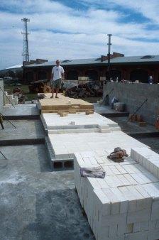 hard brick over insulation brick