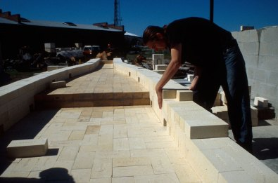 building straight walls