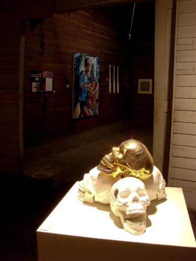 Installation view - Clean Fossils