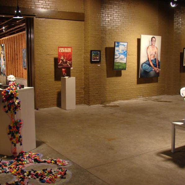 Installation view - Clean Fossils