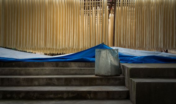 Noodles Drying, Yichang, China (IMG_2514)