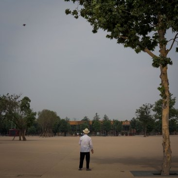 Man in a Park, Beijing, China (IMG_5456)