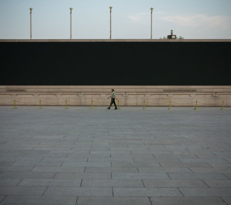 Guard, Tienanmen Square, Beijing, China (IMG_5935)