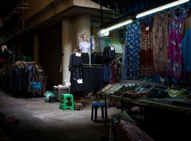 Street-side Clothing Vendor, Bangkok, Thailand (IMG_6081)
