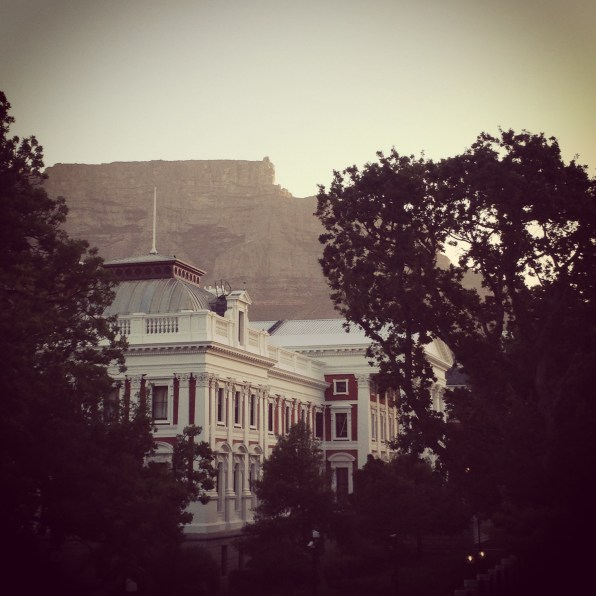 Parliament. Cape Town.